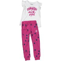 Converse Infant Girls Jogger And Tunic Set Plastic Pink