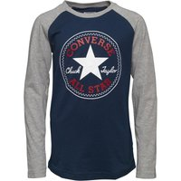 Converse Boys Chuck Patch Raglan T-Shirt Navy