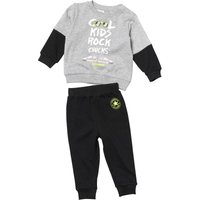 Converse Baby Boys Cool Kids French Terry Set Black