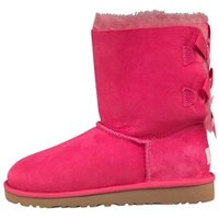 UGG Girls Bailey Bow Boots Princess Pink/Blue Curacao