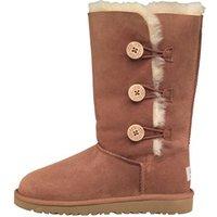 UGG Junior Bailey Button Triplet Boots Chestnut