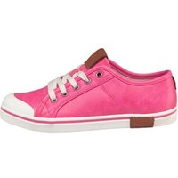 UGG Girls Broderick Pebbled Trainers Diva Pink