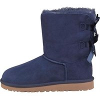 UGG Girls Bailey Bow Boots Solid Peacoat
