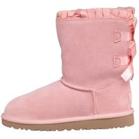 UGG Girls Bailey Bow Ruffles Boots Baby Pink