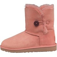 UGG Girls Bailey Button Boots Chemise Pink