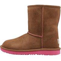 UGG Girls Classic II Boots Chestnut/Pink