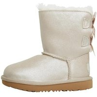 UGG Infant Girls Bailey Bow II Shimmer Boots Gold
