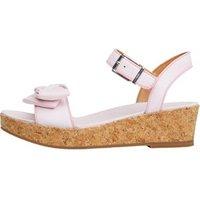 UGG Junior Girls Milley Bow Sandals Seashell Pink