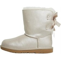 UGG Girls Bailey Bow II Shimmer Boots Gold
