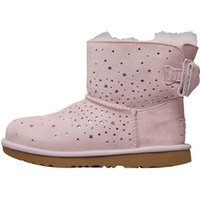 UGG Girls Stargirl Classic Mini II Bow Boots Bright Pink