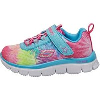 SKECHERS Infant Girls Appeal Hot Tropic Trainers Turquoise/Multi