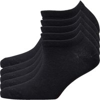 SKECHERS Womens Five Pack No Show Trainer Liner Socks Black
