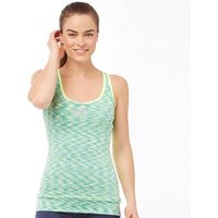 SKECHERS Womens Zyra Performance Strappy Vest Lime