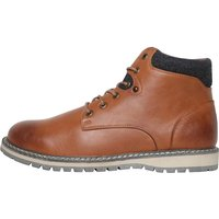Mad Wax Mens Lace Up Boots Tan