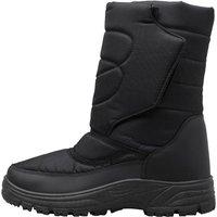 Mad Wax Mens Snow Boots Black