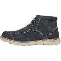 Mad Wax Mens Apron Front Boots Dark Charcoal