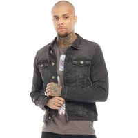 Blend Mens Denim Jacket Denim Black