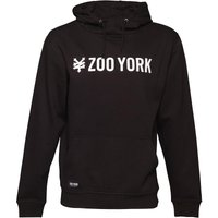 Zoo York Mens Straight Logo Hoody Anthracite