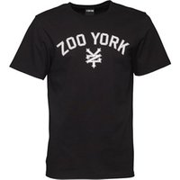 Zoo York Mens Arched Logo T-Shirt Anthracite