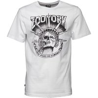 Zoo York Mens Death Of Liberty Graphic T-Shirt White