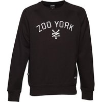 Zoo York Mens Bridge Logo Crew Neck Sweat Anthracite