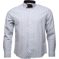 HARPER LEYLAND Mens Fleming Long Sleeve Shirt White