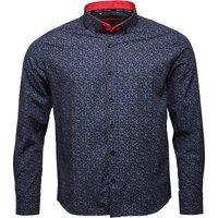 HARPER LEYLAND Mens Fleming Long Sleeve Shirt Black