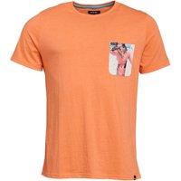 Animal Mens Graphic T-Shirt Orange
