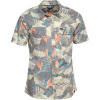 Animal Mens Short Sleeve Shirt Multi