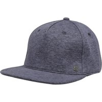 Animal Mens Duke Flat Peak Cap Dark Navy Marl