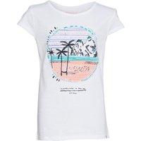 Animal Girls Abonnie Basic T-shirt White