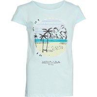 Animal Girls Abonnie Basic T-shirt Misty Green