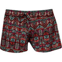 Animal Womens Luella Elasticated Board Shorts Paradise Pink Picture