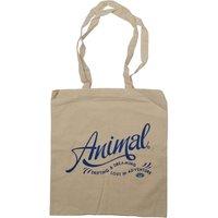 Animal Womens Script Tote Bag Natural