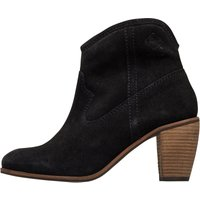 Superdry Womens Alice Western Boots Black Suede