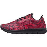 Superdry Womens Scuba Runner Trainers Neon Pink Python
