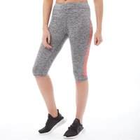 Superdry Sport Womens Core Gym Capri Pants Charcoal Grit