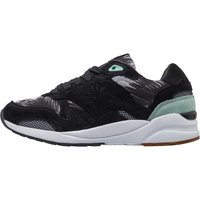 Superdry Womens May Runner Trainers Black/90s Mint