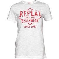 Replay Mens T-Shirt White/Red