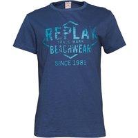 Replay Mens T-Shirt Navy/Blue