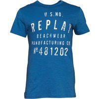 Replay Mens T-Shirt Blue/White