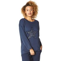 Lounge Sequin Star Tunic Top