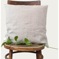 Natural Washed Linen Cushion Cover