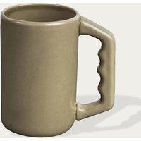 Olive Green Mug with Handle