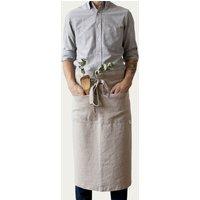 Natural Washed Linen Waist Apron