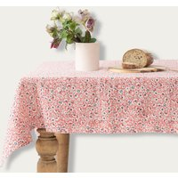 Blossom Washed Linen Tablecloth