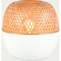 Mekong Round Bamboo Table Lamp- S