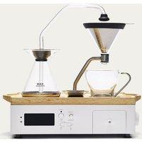 White Barisieur Coffee Alarm Clock