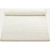 White/Offwhite Cotton Rug