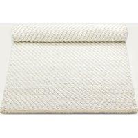 White/Offwhite Cotton Rug